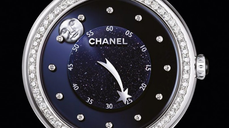 chanel watches for women. presenting the chanel mademoiselle prive moon and comet watch watches for women d