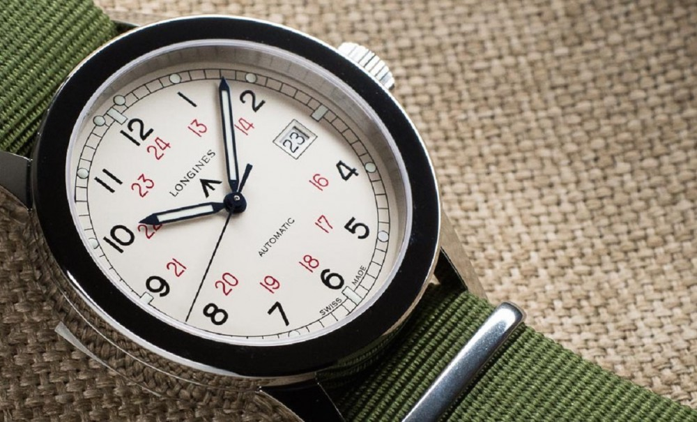 Longines reissues Heritage Military COSD watch