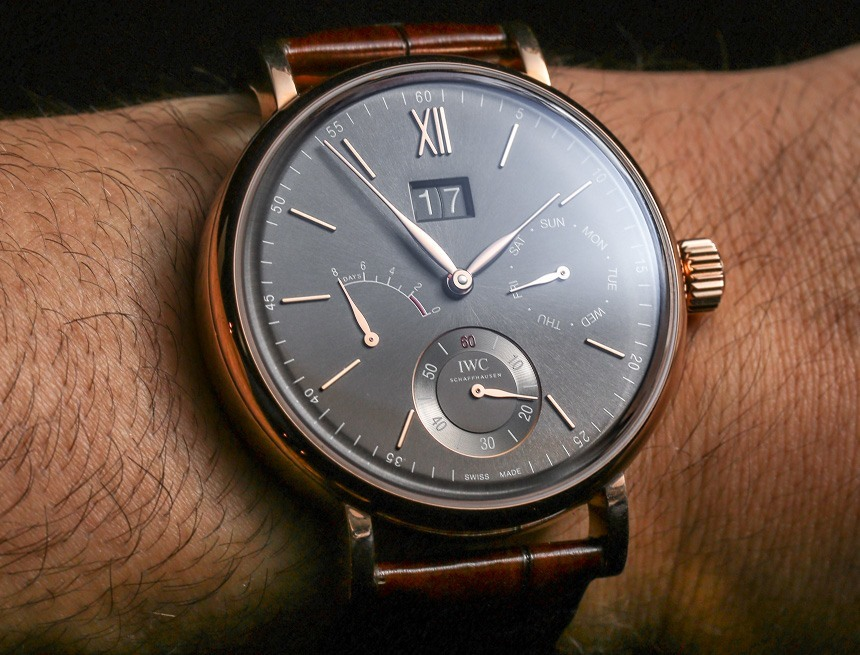 IWC Portofino Hand-link hands and date display