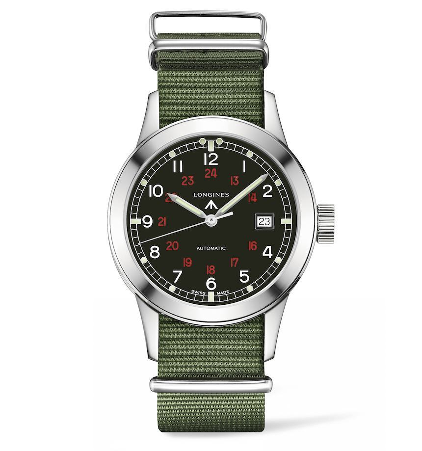 A New Release:Longines Heritage military COSD Watch