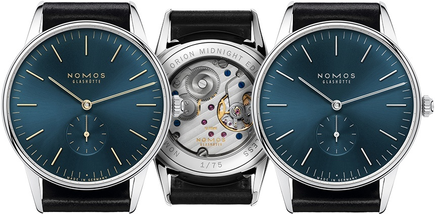 Timeless Watch: Nomos Orion Midnight Edition Watch