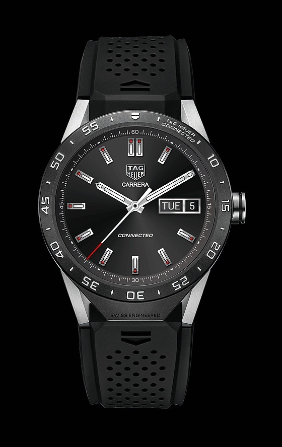 "TAG Heuer introduced TAG Heuer connection, ""the world's smartest luxury watches"""