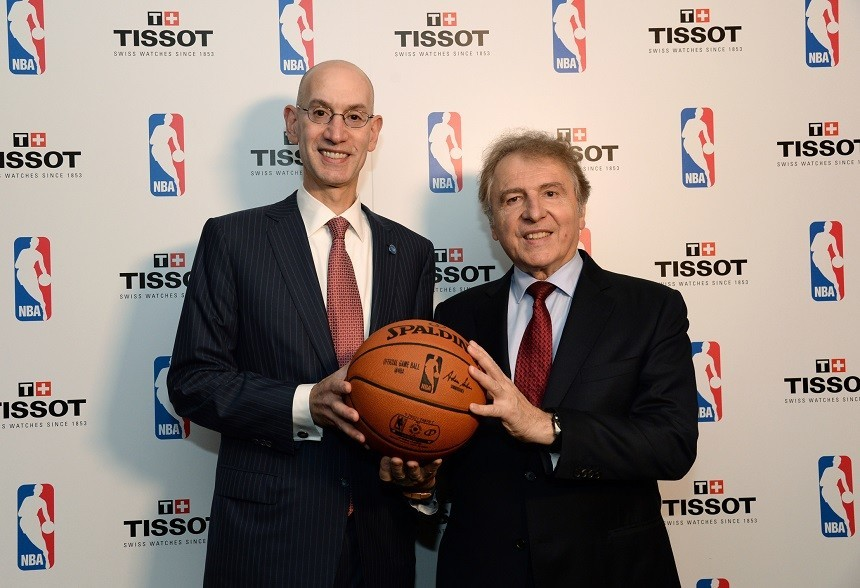 NBA Special Edition Tissot watches unveiled five new partners