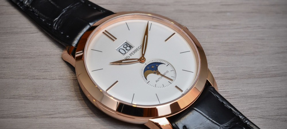 Hand On With Girard-Perregaux 1966 Large Date And Moon