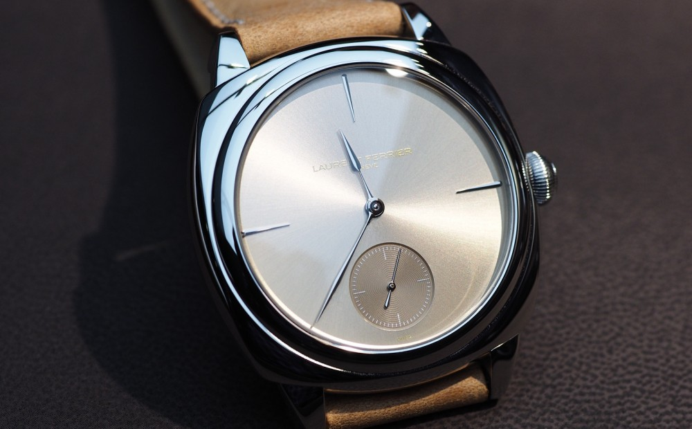 Hands-on With Laurent Ferrier Galet Square In Stainless Steel