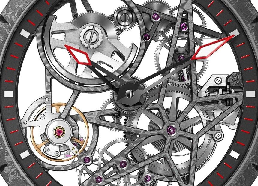 Roger Dubuis Excalibur Carbon Skeleton Automatic Watch