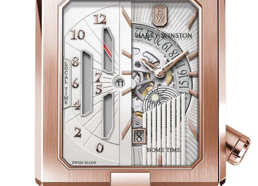 Harry Winston Avenue Dual Time Automatic Watch