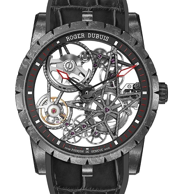 Reviewing Roger Dubuis Excalibur Automatic Skeleton Carbon