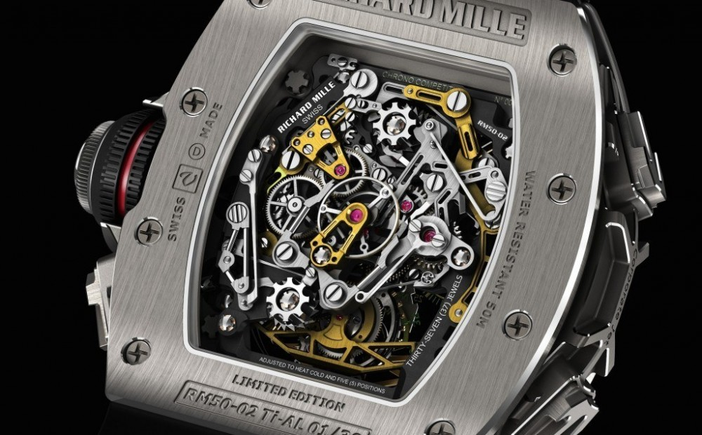 Previewing Richard Mille RM 50-02 Tourbillon Split Seconds Chronograph