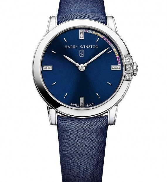 "Harry Winston ""Countdown to a Cure"" Watches"