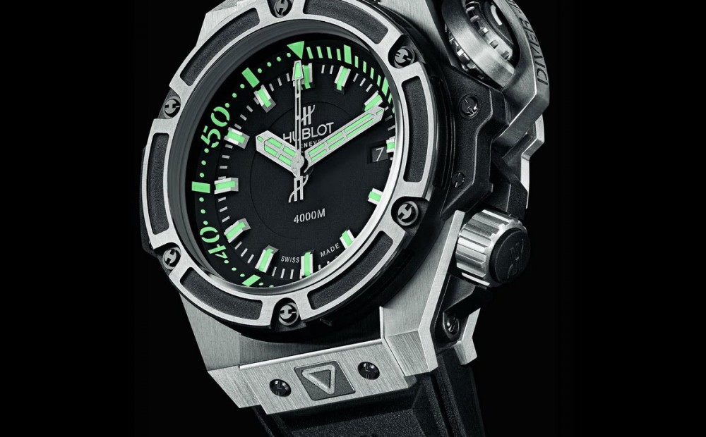 dive hublot oceanographic 4000 luxury watches