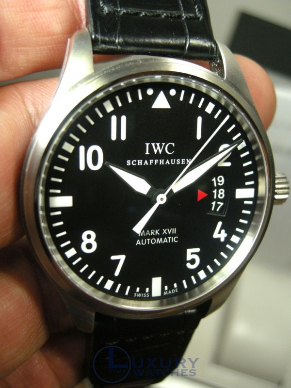 Previewing IWC Pilot's Watch Mark XVII
