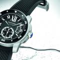 Watch Reviewing the Cartier Calibre de Cartier Diver