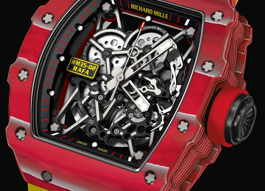 Richard Mille RM 35-02 Rafael Nadal Quartz-TPT Watch