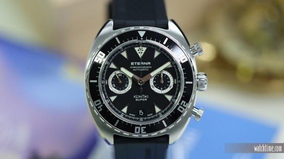 The Eterna Super KonTiki Chronograph Manufacture