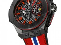 the Big Bang Ferrari Black Ceramic