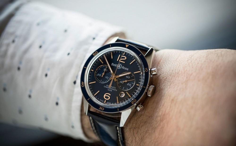 Bell & Ross black dial dress watch