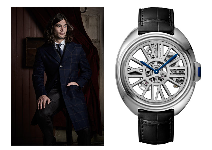Clé de Cartier Skeleton dress watch