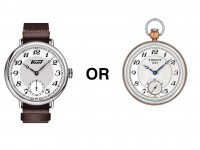 tissot wrist or pocket watch