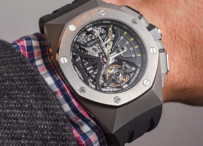 Audemars Piguet Royal Oak Concept Supersonnerie Tourbillon Chronograph Watch