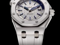 New Audemars Piguet Royal Oak Offshore Diver in White Ceramic