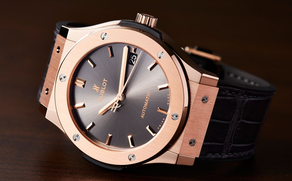 hublot classic fusion racing-grey king gold