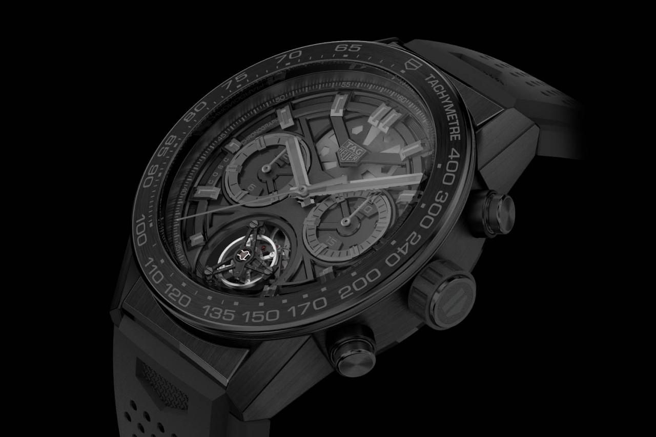The New TAG Heuer Carrera Heuer-02T Tourbillon ...