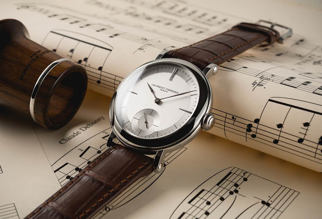"Laurent Ferrier Galet Micro Rotor ""Montre Ecole"""