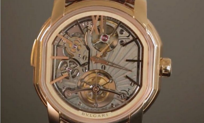 The Bulgari Daniel Roth Carillon Tourbillon