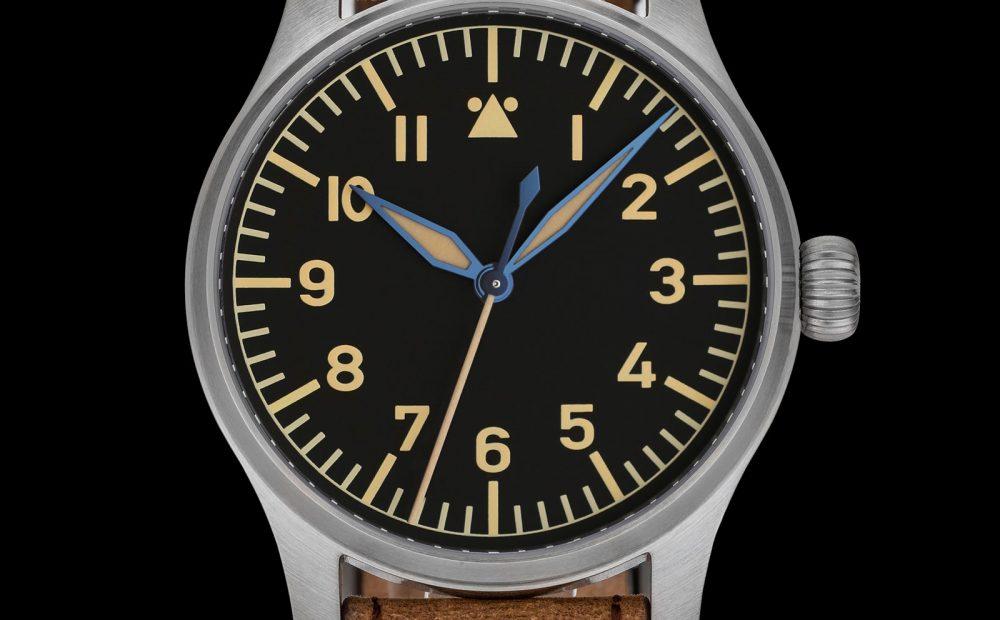 the Stowa 90th Anniversary Flieger Klassik & Marine Automatik Blue Limited Editions