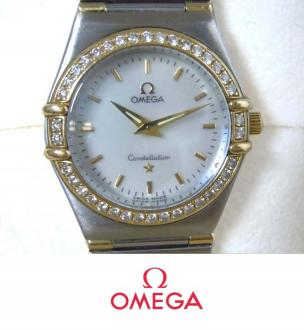 Ladies Omega Constellation Diamond Watch