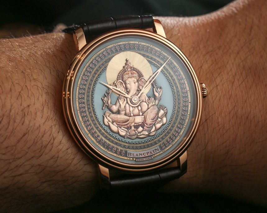 New Ganesh & Coelacanth Engraved Dial Watches : Blancpain