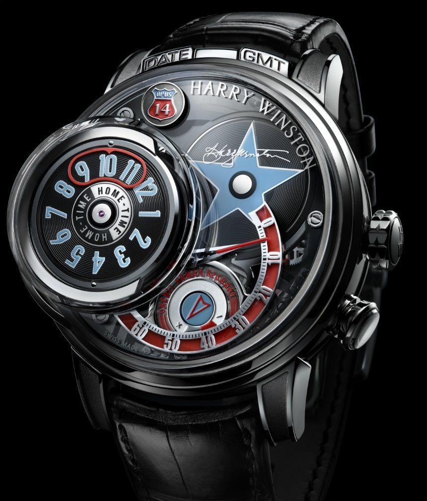 An Introdyction Of Harry Winston Opus 14 Watch