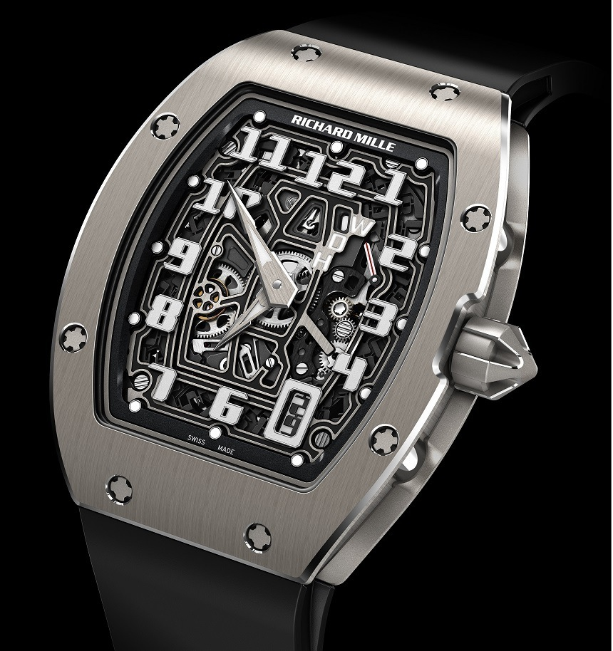 New Released:Richard Mille Automatic Extra Flat Watch