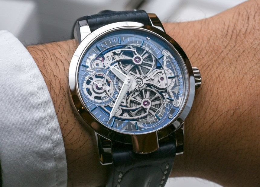 New Armin Strom Skeleton Pure in White Gold Hands-On