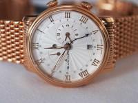 Blancpain Villeret Réveil GMT Mechanical Alarm Watch