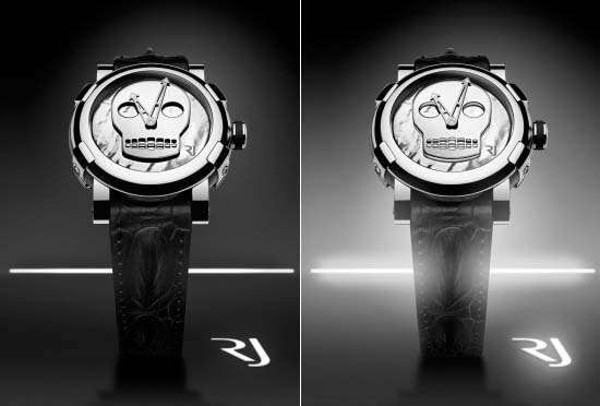 Romain Jerome skull watch