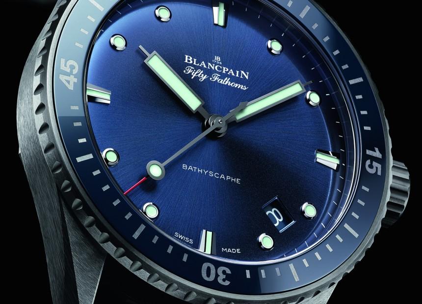 Blancpain Fifty Fathoms Bathyscaphe Watch