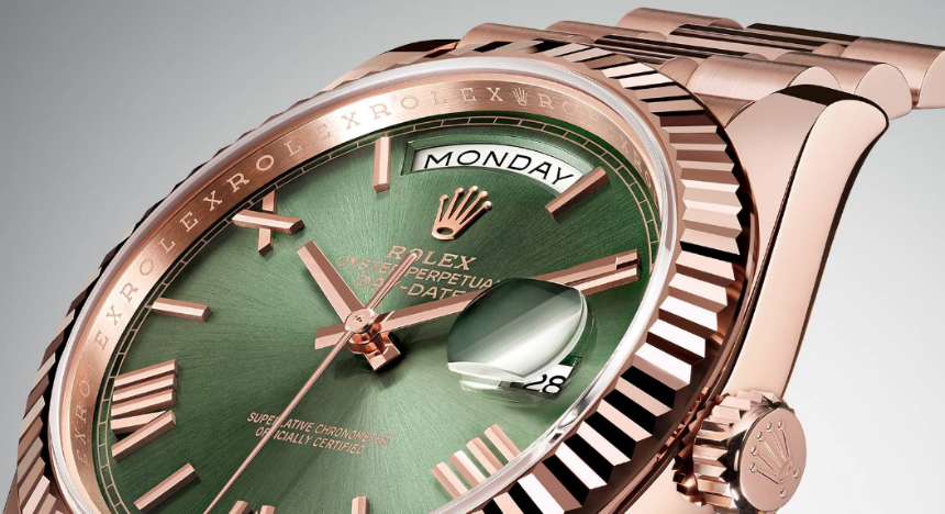New Rolex Day-Date 40 60th Anniversary Watch With Green Dial
