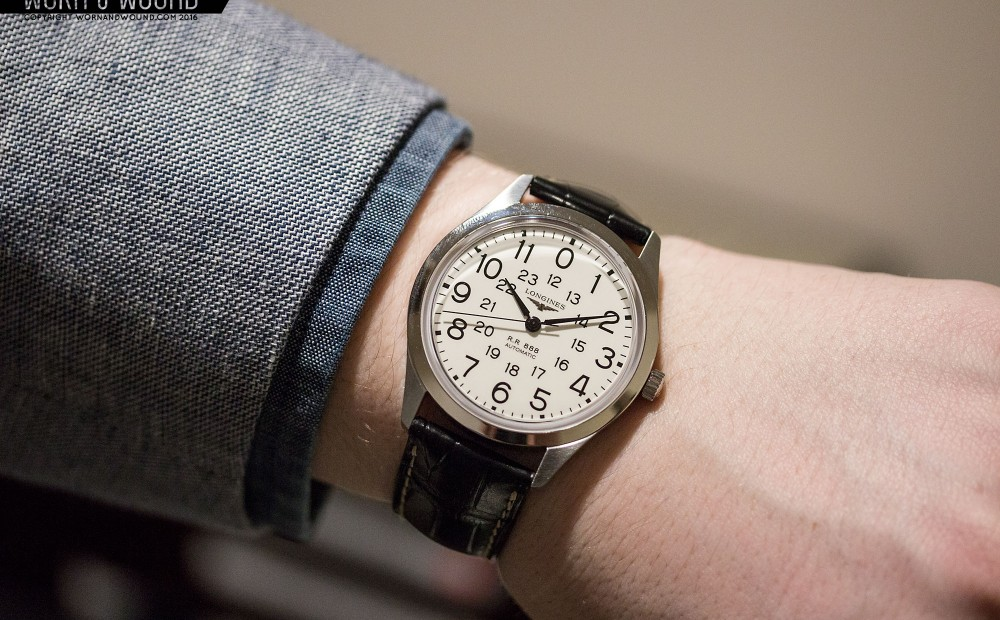 Longines Timetravels at To 1918 And the 60's