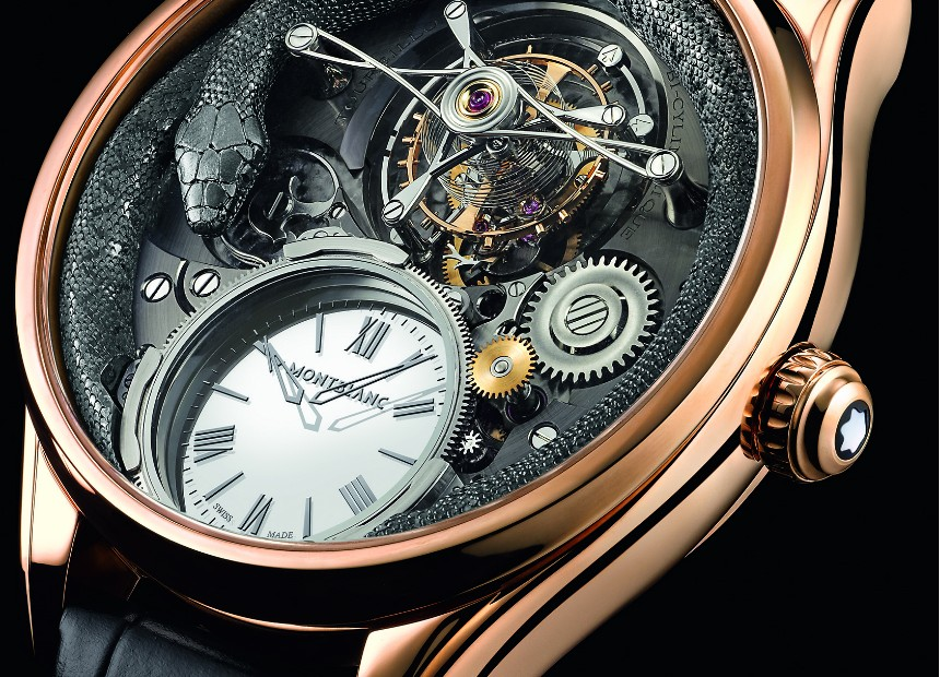 New Montblanc Collection Villeret Tourbillon Bi-Cylindrique Limited Edition Watch