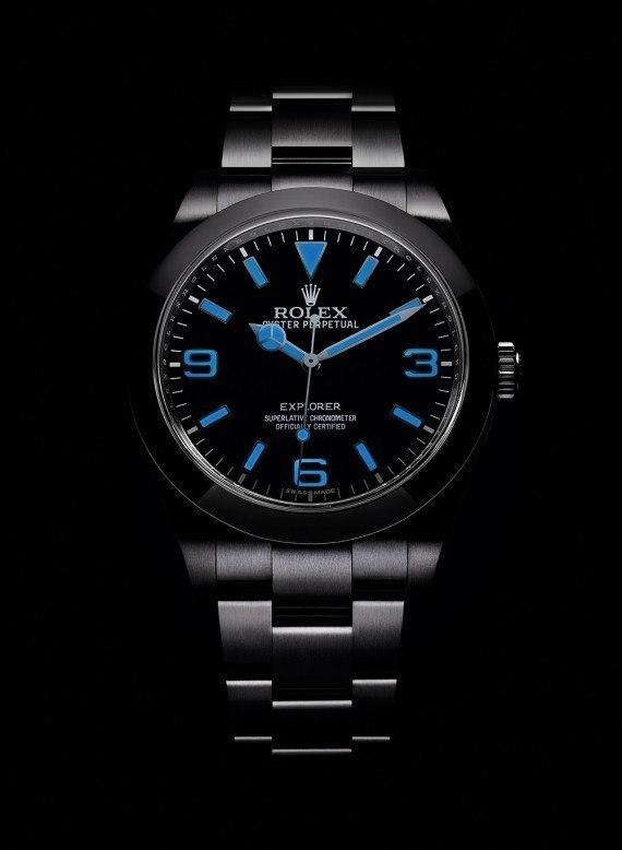New Rolex Explorer Features Enhanced Luminescence