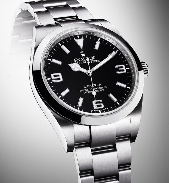 New Rolex Explorer Features Enhanced Luminescence