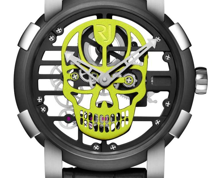 Vintage Romain Jerome Skylab 48 Speed Metal Skull