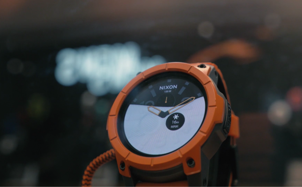 Nixon's Android Wear Smartwatch