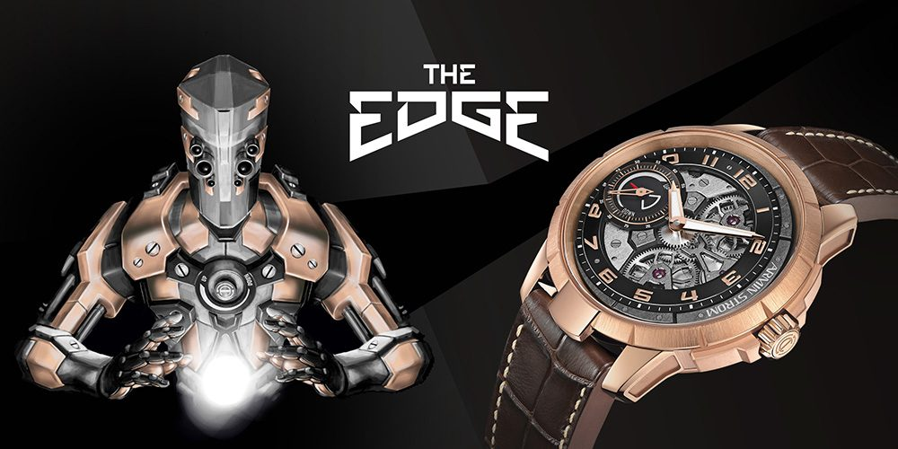 Armin Strom Edge Double Barrel Watch In Rose Gold Watch