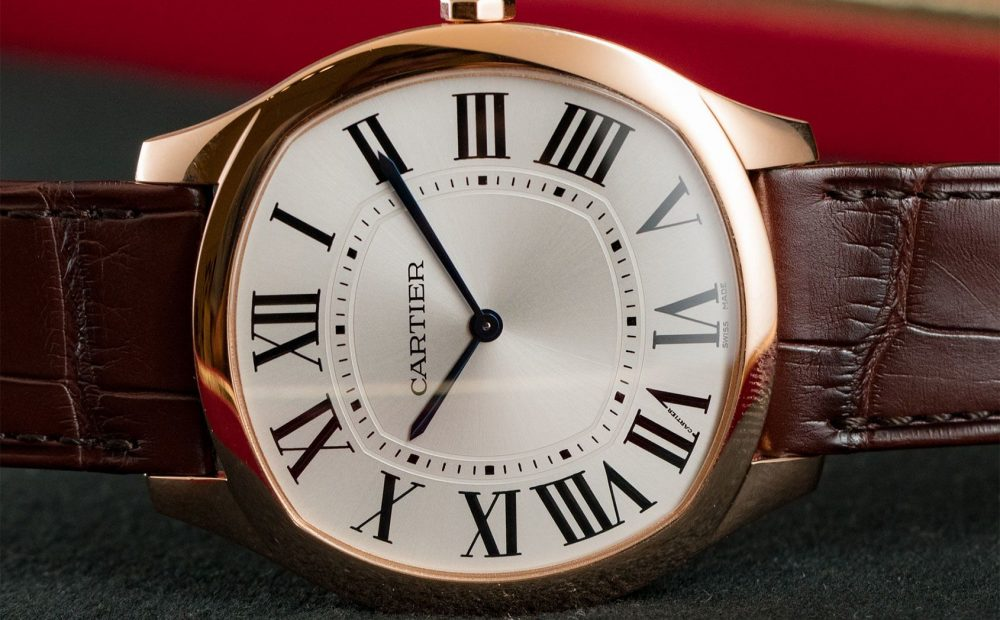 Cartier Drive Extra Flat pink gold