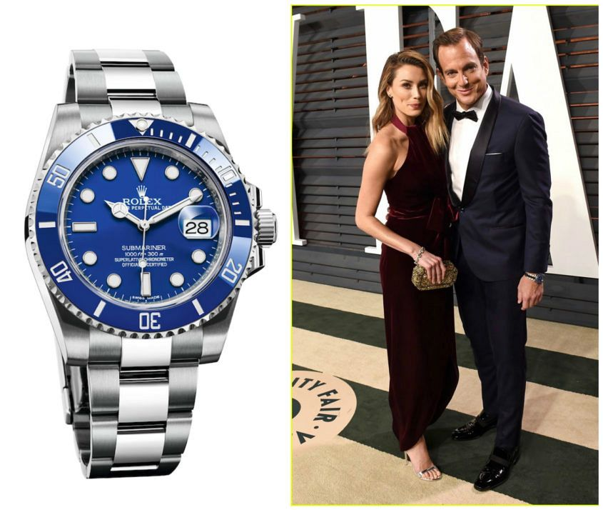 Will Arnett's Rolex Submariner (ref. 116619LB)