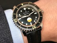 The new Blancpain Tribute to Fifty Fathoms MIL-SPEC