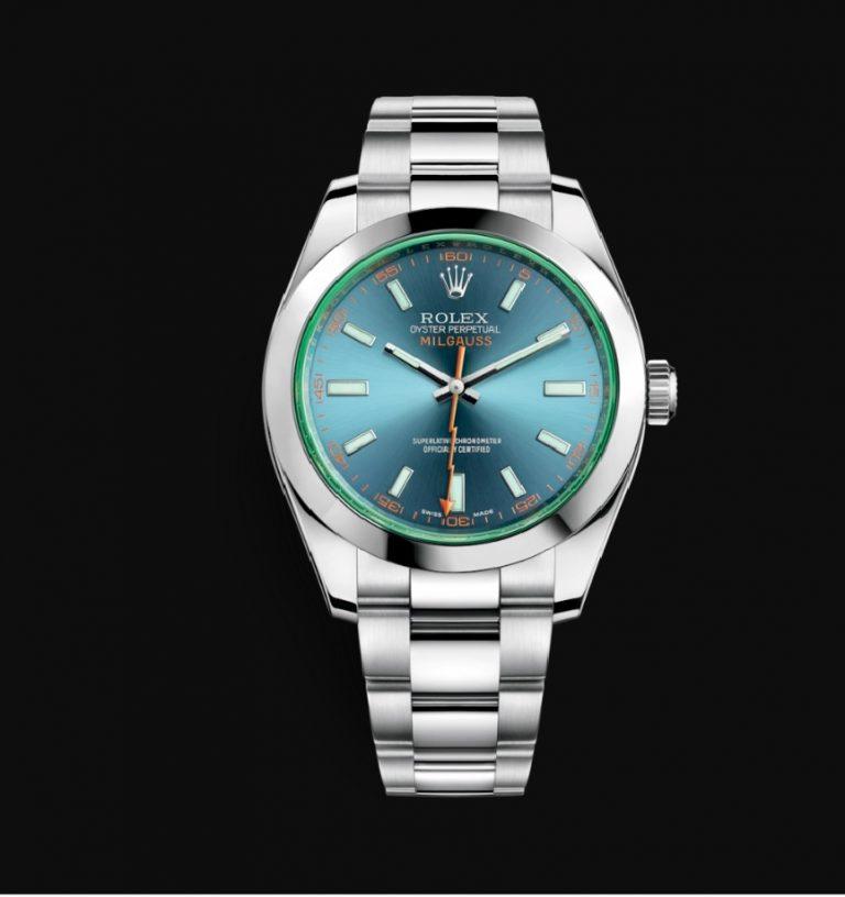Rolex-Milgauss-Z-Blue